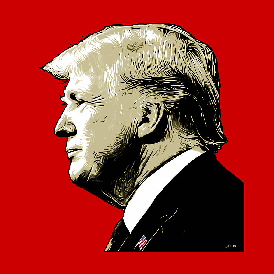 Donald Trump Digital Art