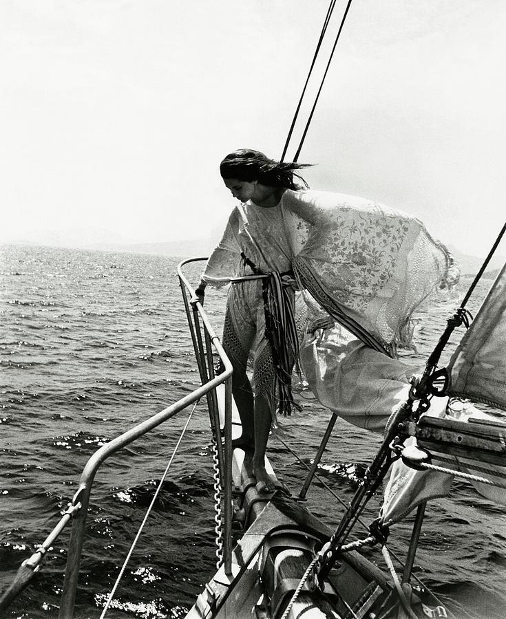 Donna Marina Lante della Rovere Photograph by Patrick Litchfield