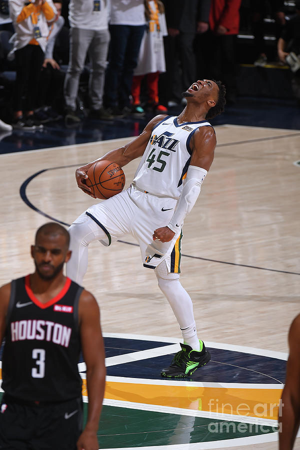 Donovan Mitchell Photograph by Bill Baptist