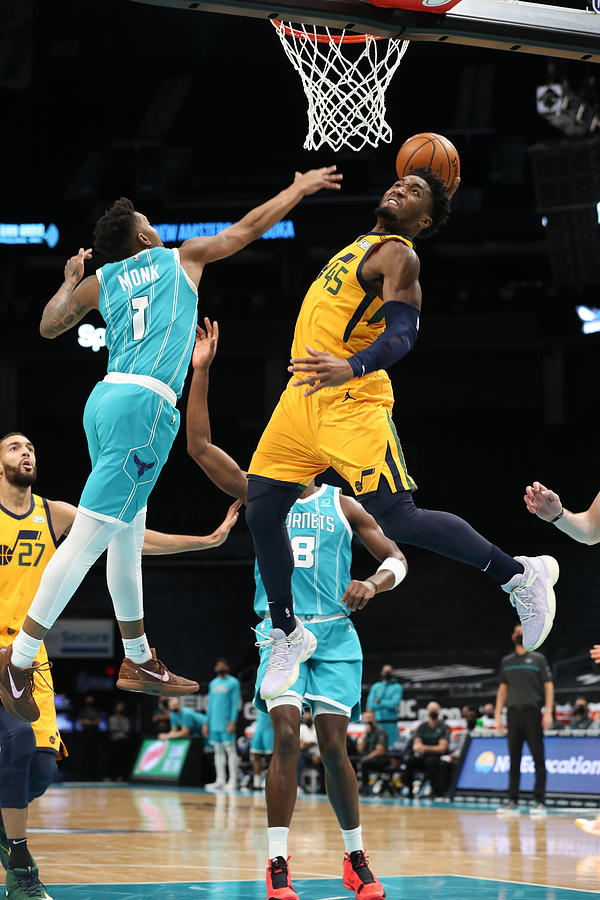 Donovan Mitchell Photograph by Brock Williams-Smith