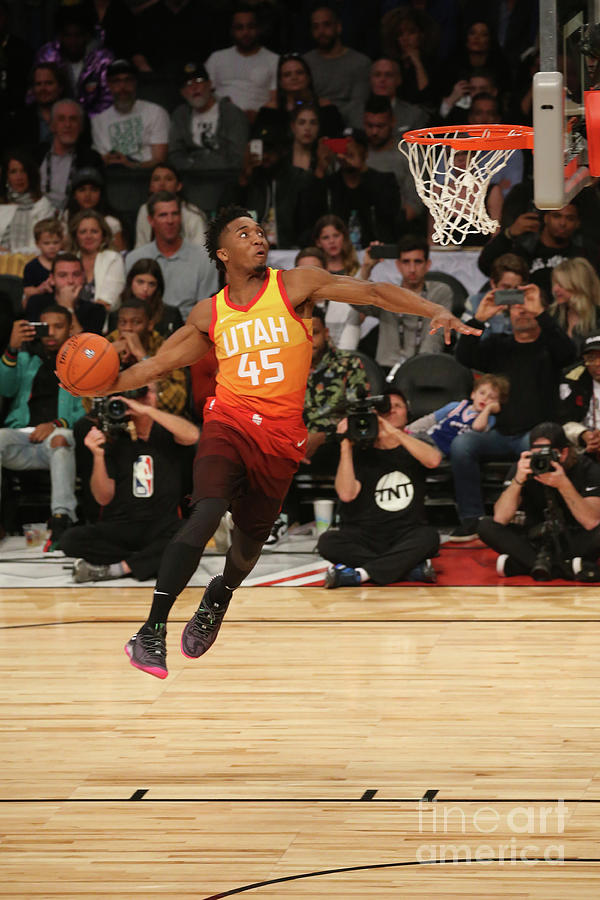 Donovan Mitchell Photograph by Gary Dineen