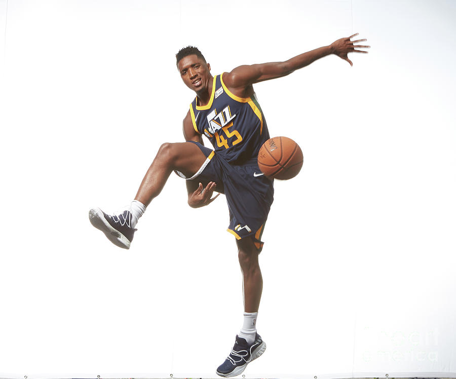 Donovan Mitchell Photograph by Nathaniel S. Butler
