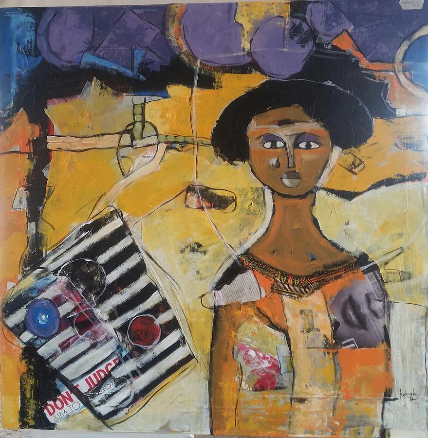 Don't judge Painting by Katumba Simon peter