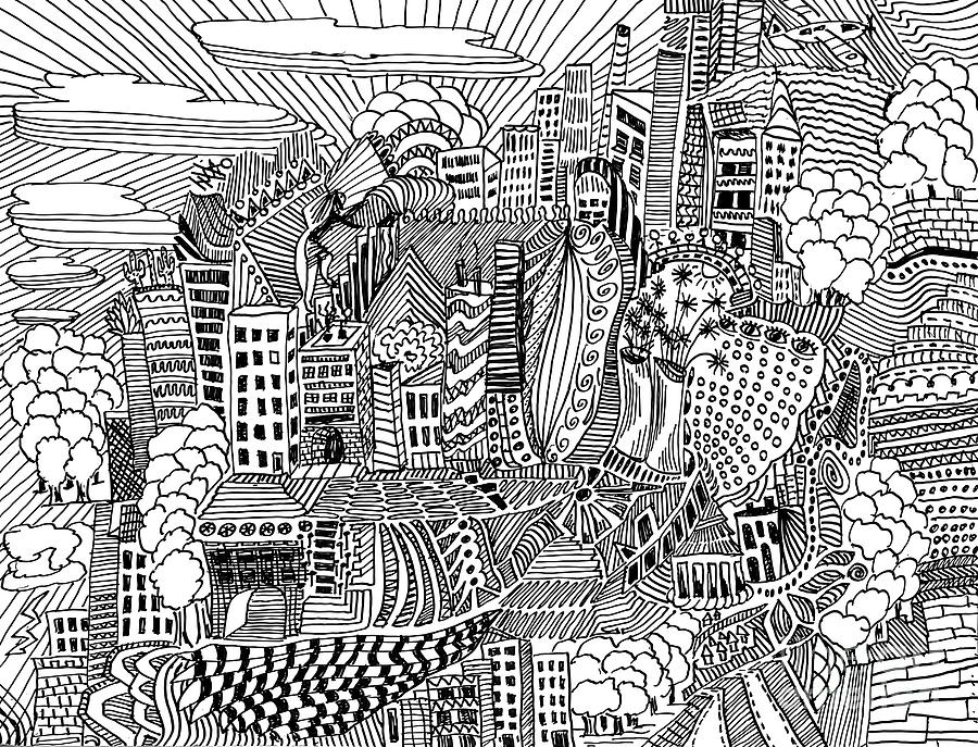 Doodle 2 Drawing Drawing