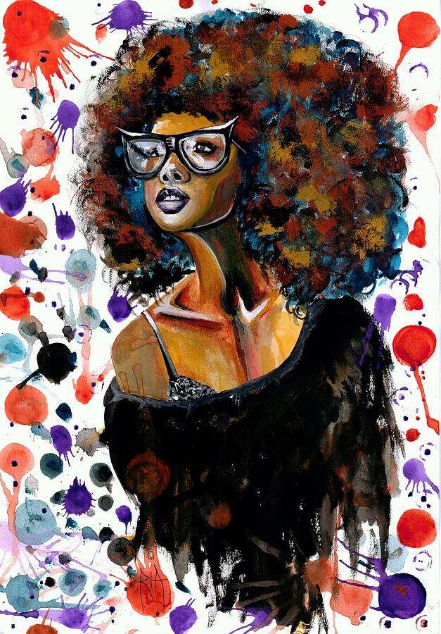 Sexy Painting - Dope Chic by Artist RiA