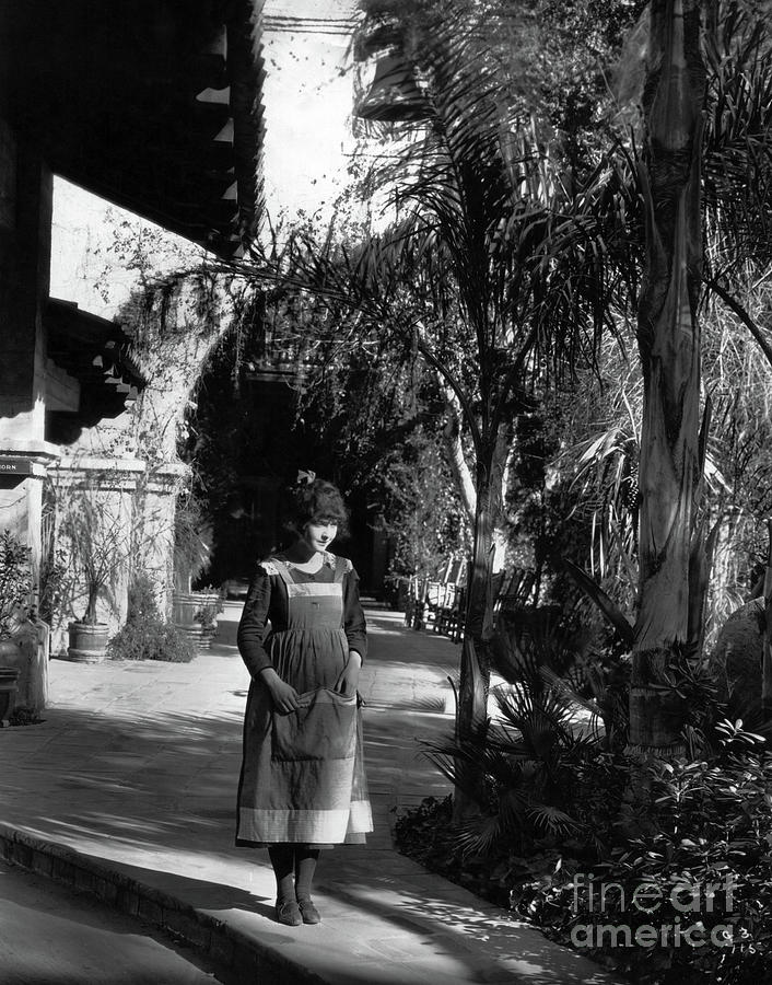 Lost Film Photograph - Dorothy Gish - Boots - 1919 - Mission Inn - Riverside CA by Sad Hill - Bizarre Los Angeles Archive