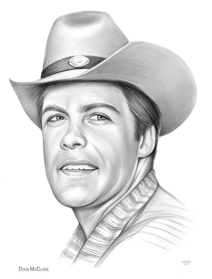Doug Mcclure Drawing