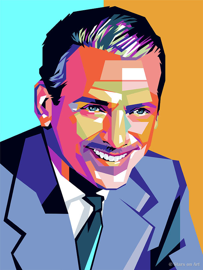 Douglas Fairbanks Jr. Painting