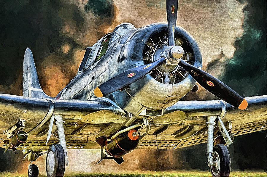 Douglas SBD Dauntless by JC Findley