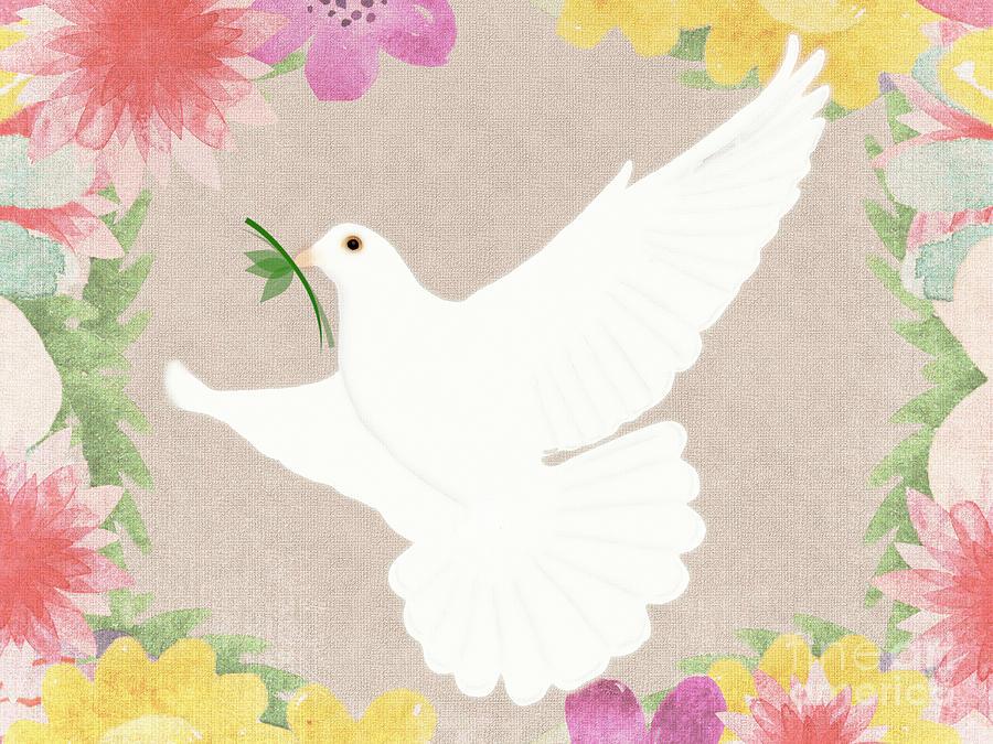 Dove Of Peace Digital Art