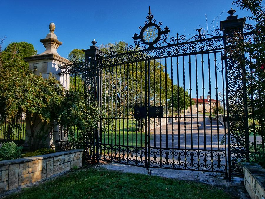 Down The Gated Drive Photograph