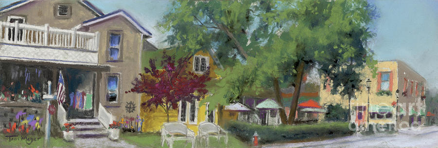Downtown Lakeside Painting