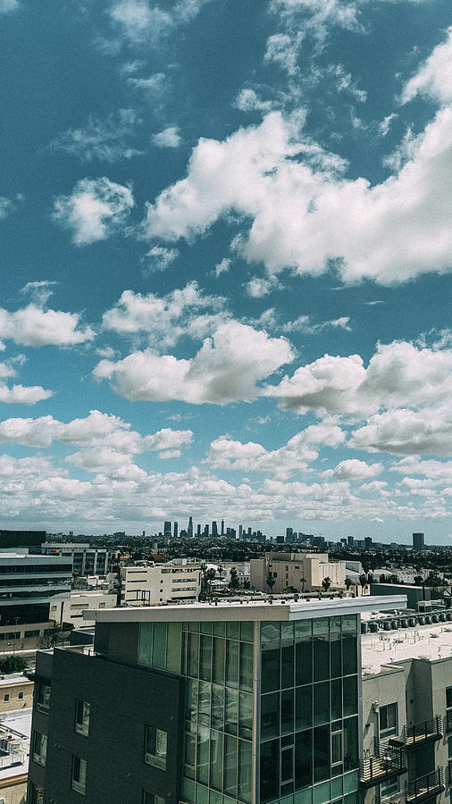Los Angeles Photograph - Downtown Los Angeles Picturesque Skyline by Jera Sky