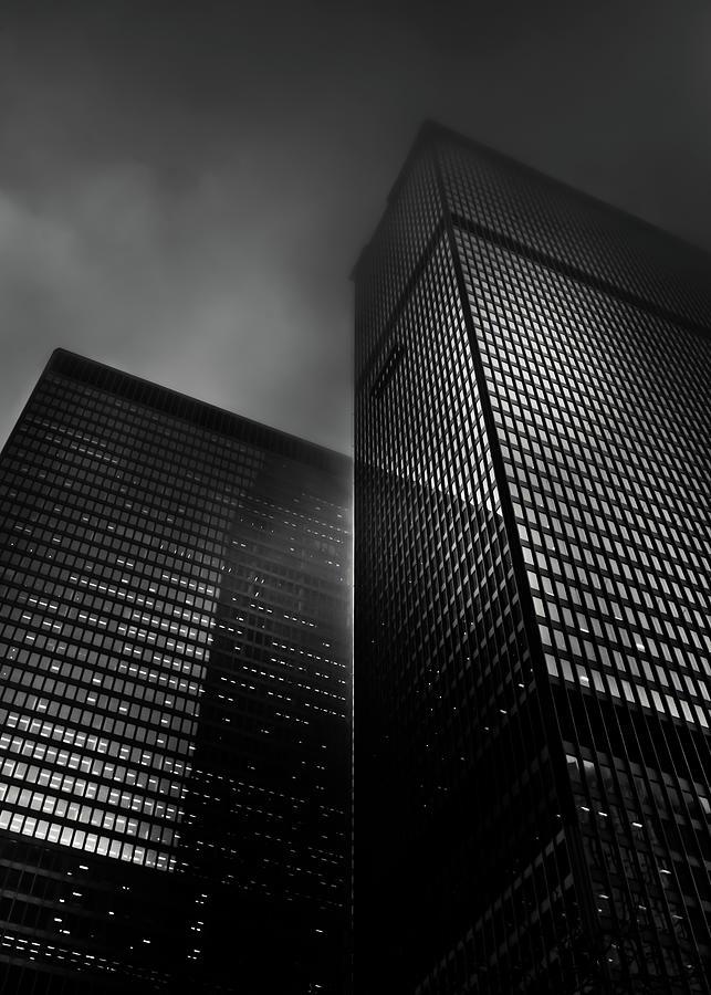 Downtown Toronto Fogfest No 17 Photograph