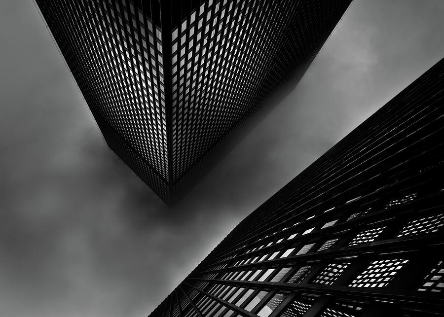 Downtown Toronto Fogfest No 29 Photograph