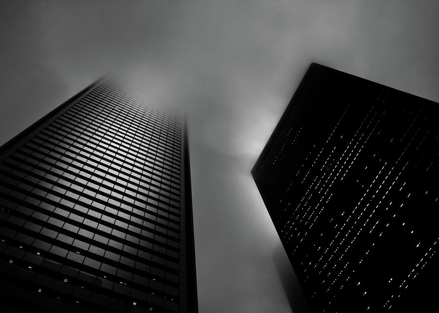 Downtown Toronto Fogfest No 33 Photograph