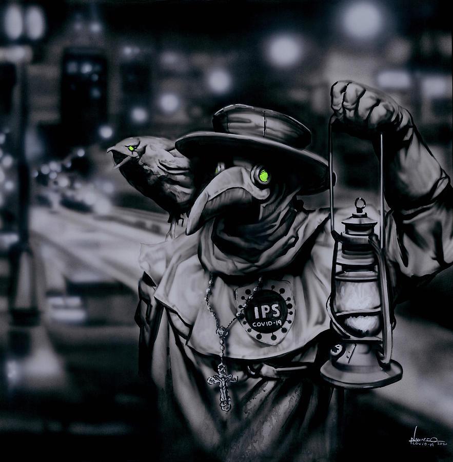 Dr. Corona Painting