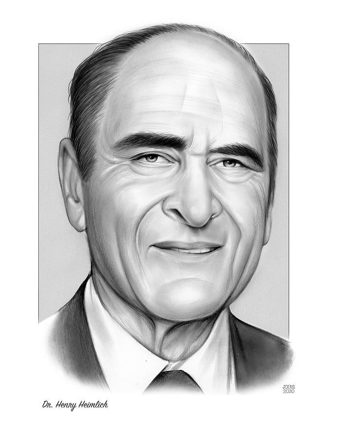 Dr. Henry Heimlich Drawing