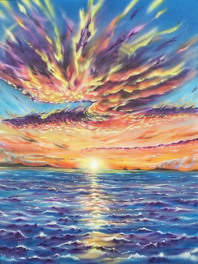 Dragon Painting by Joel Salinas III