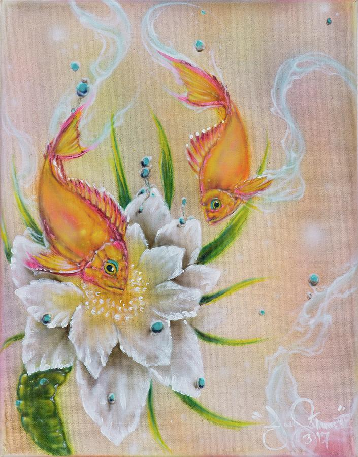 Dragonthias Painting by Joel Salinas III