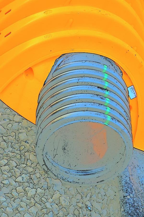 Drain Field Pipe Photograph