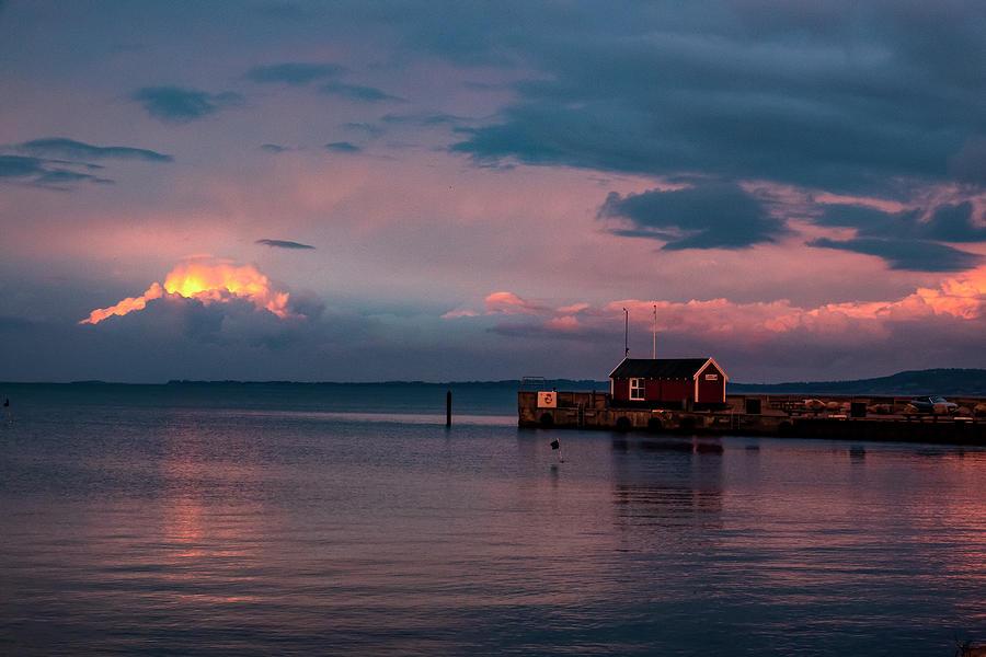 Drama After Sunset Photograph