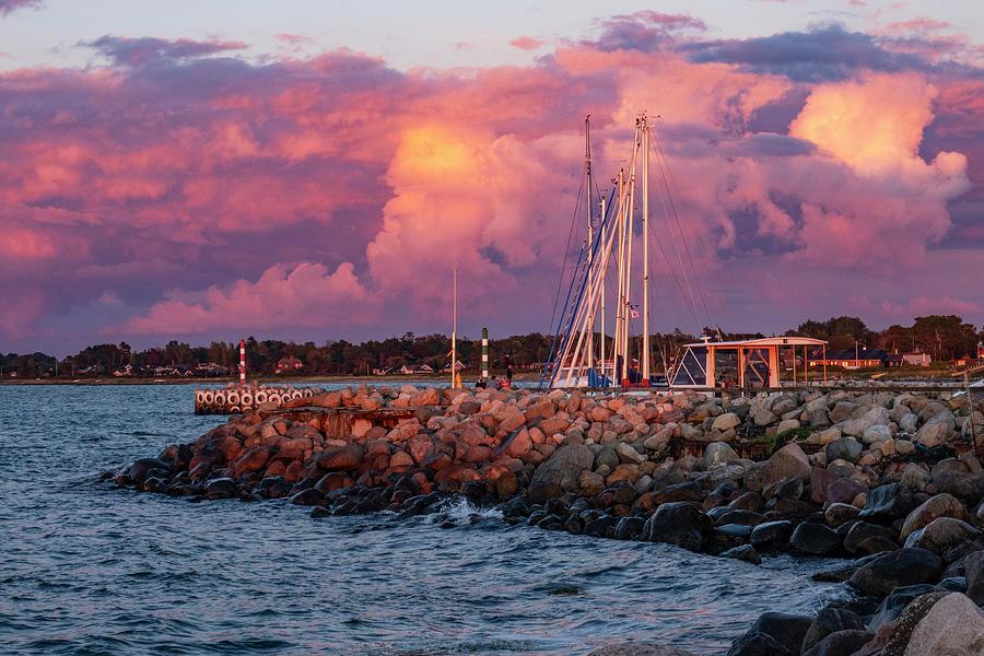Dramatic Evening Light Photograph