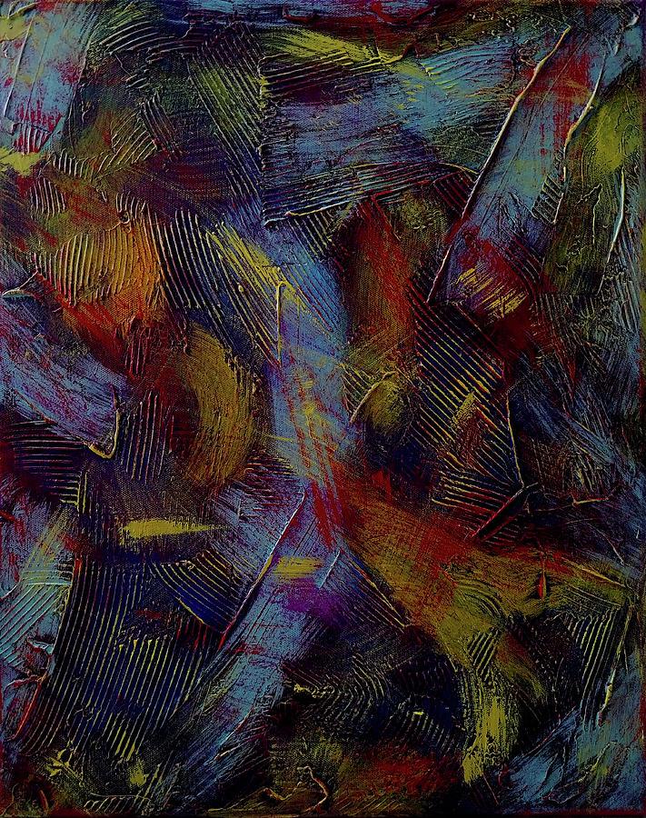 Dramatic Lesson Painting by Trisha Pena