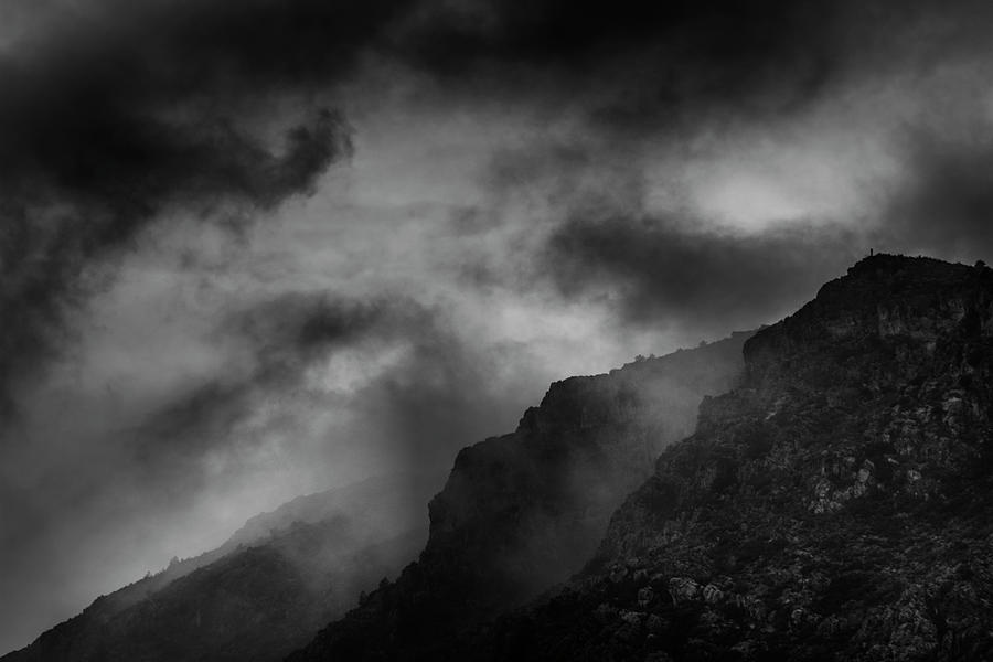 Cloud Photograph - Dramatic Mountain Sky by Vicente Sargues