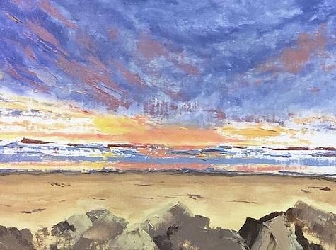 Dramatic Skies by Donna Joy Cavaliere