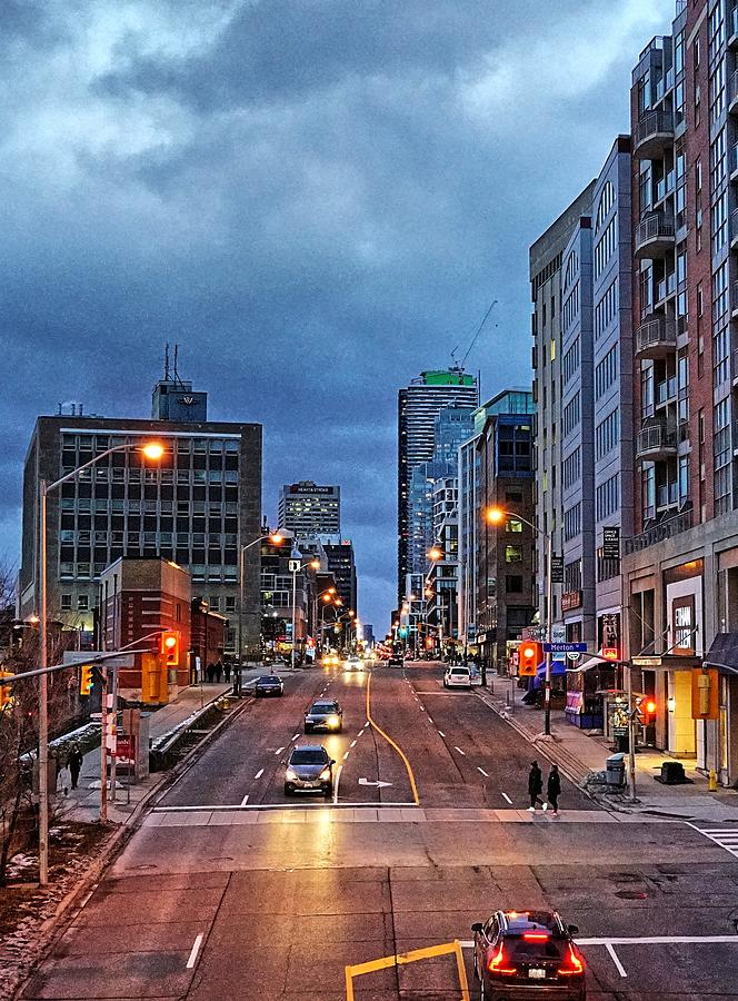 Dramatic Skies North On Yonge Street Photograph