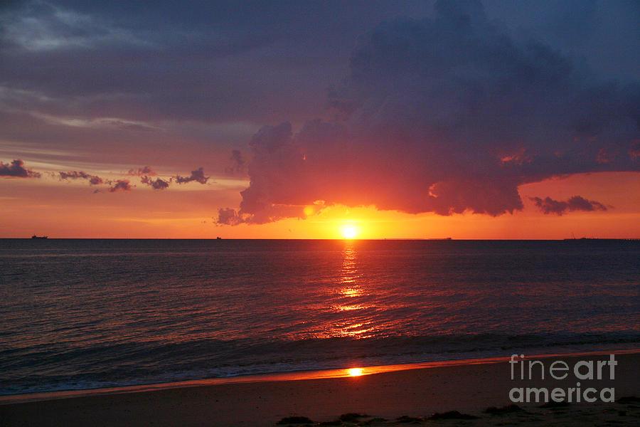 Dramatic Sunrise Photograph