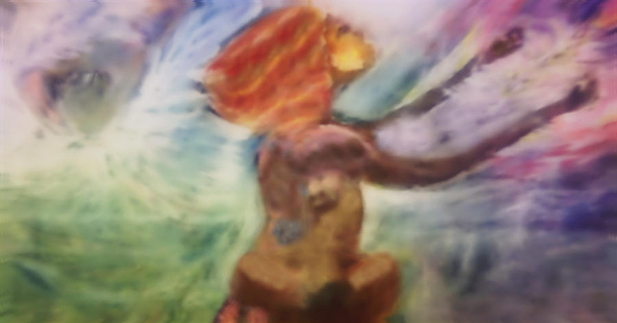 Power Of Prayer Mixed Media - Drawing Near To God by Elita Barnhart