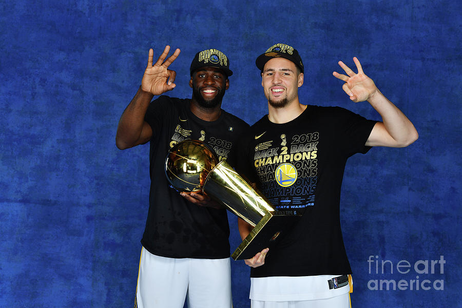 Draymond Green and Klay Thompson Photograph by Jesse D. Garrabrant