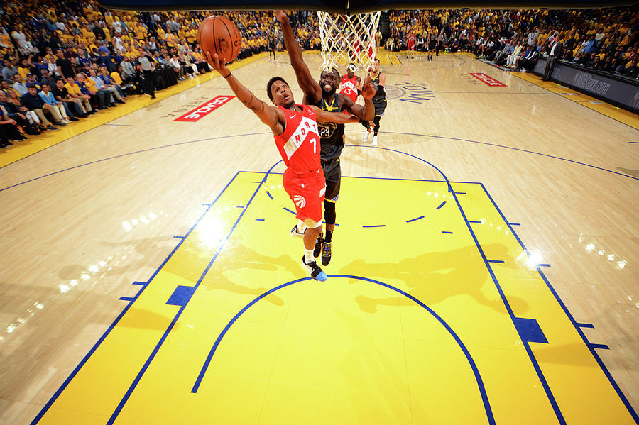 Draymond Green and Kyle Lowry Photograph by Jesse D. Garrabrant