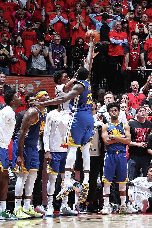 Draymond Green and Kyle Lowry Photograph by Nathaniel S. Butler