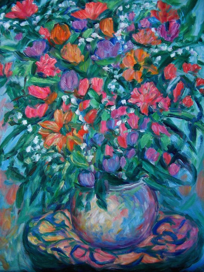 Vase Of Flowers Painting - Dream Bouquet by Kendall Kessler