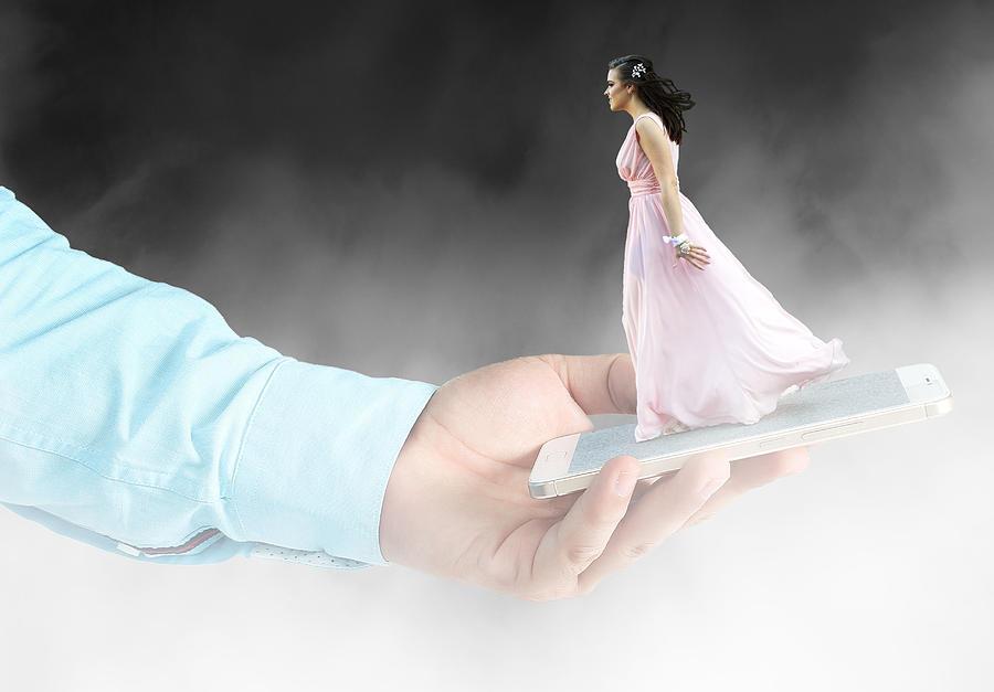 Dream Bride Digital Art