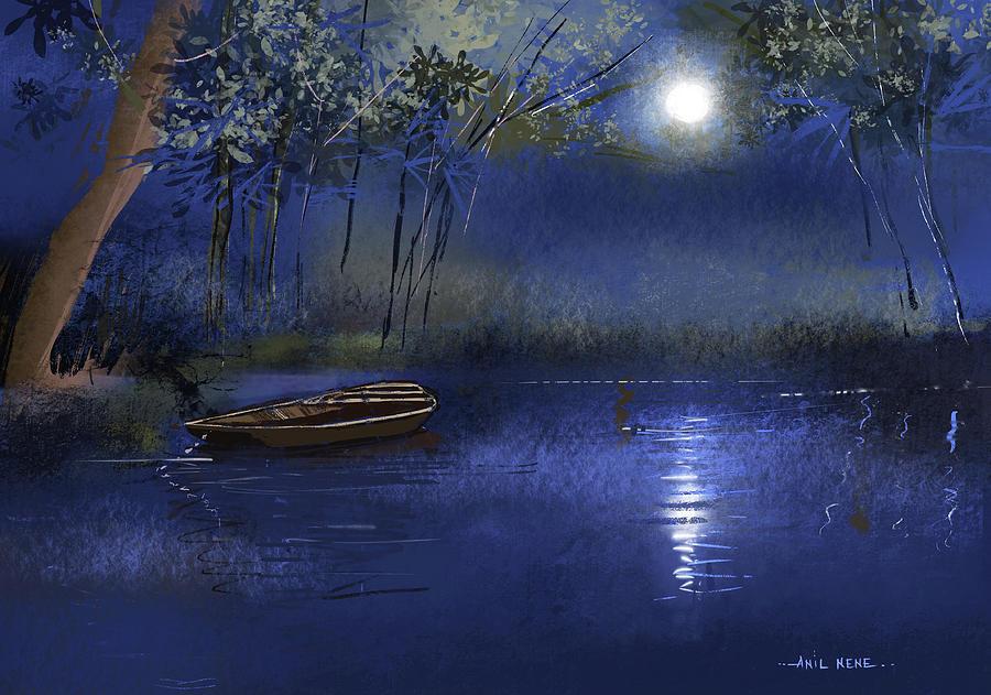 Dream Lake 2 Digital Art