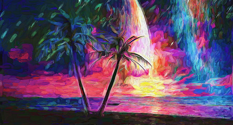 Dream on palm coast by Nenad Vasic
