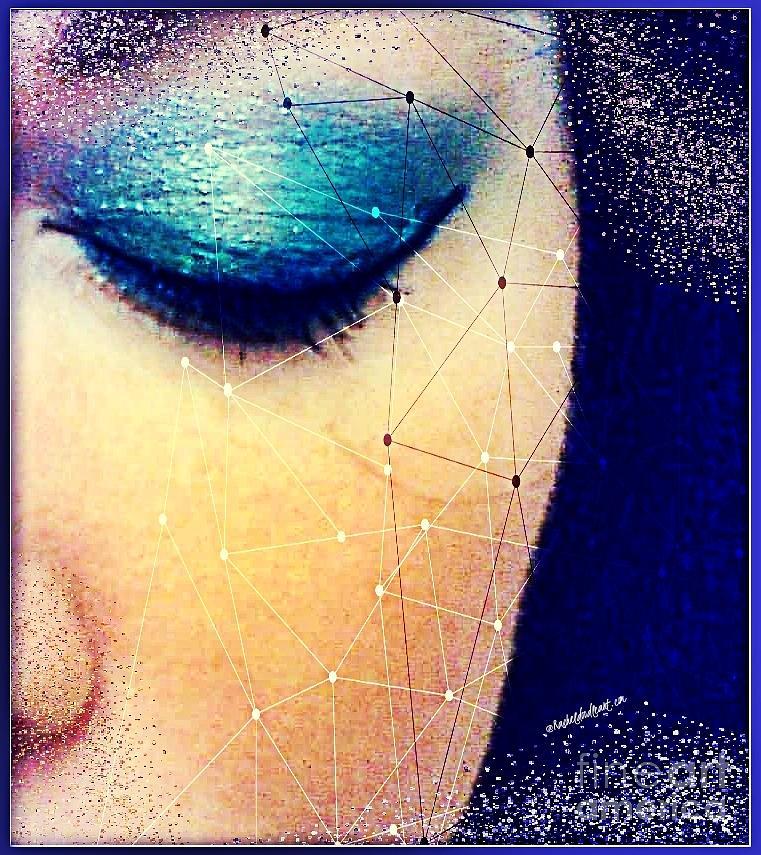 Face Mixed Media - Dreamer by Rachel Maynard