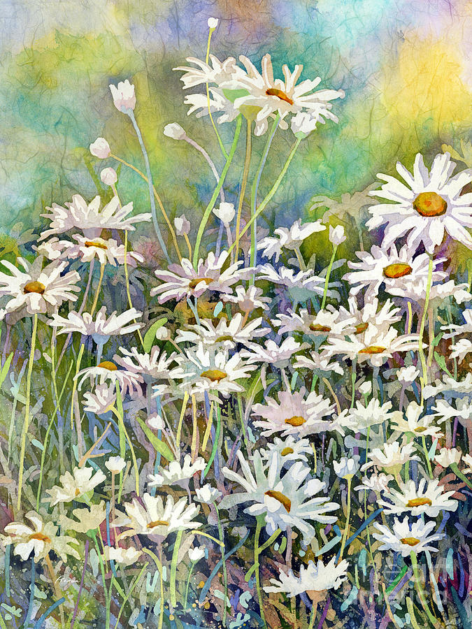 Dreaming Daisies-left Painting