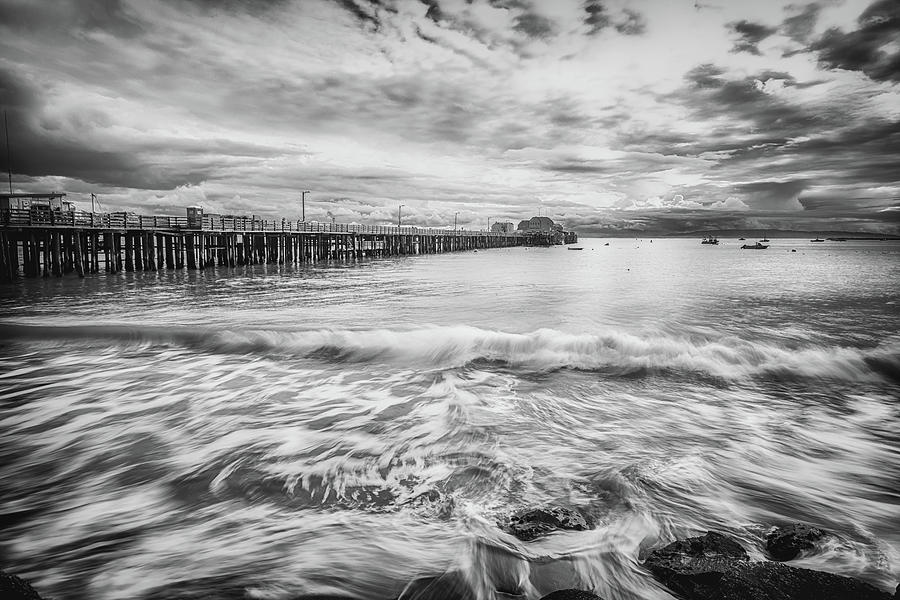 Dreaming In Black And White At Port San Luis Photograph