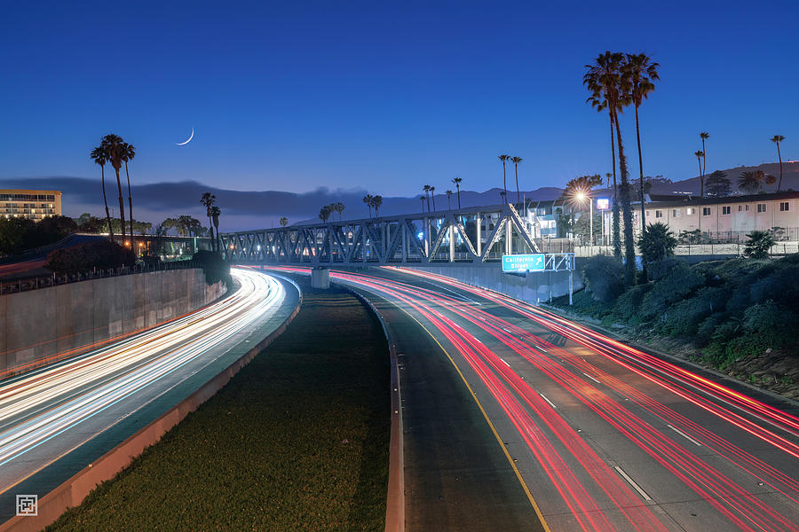 California Street Photograph - Dreaming of the California Street Exit by Tim Hungerford