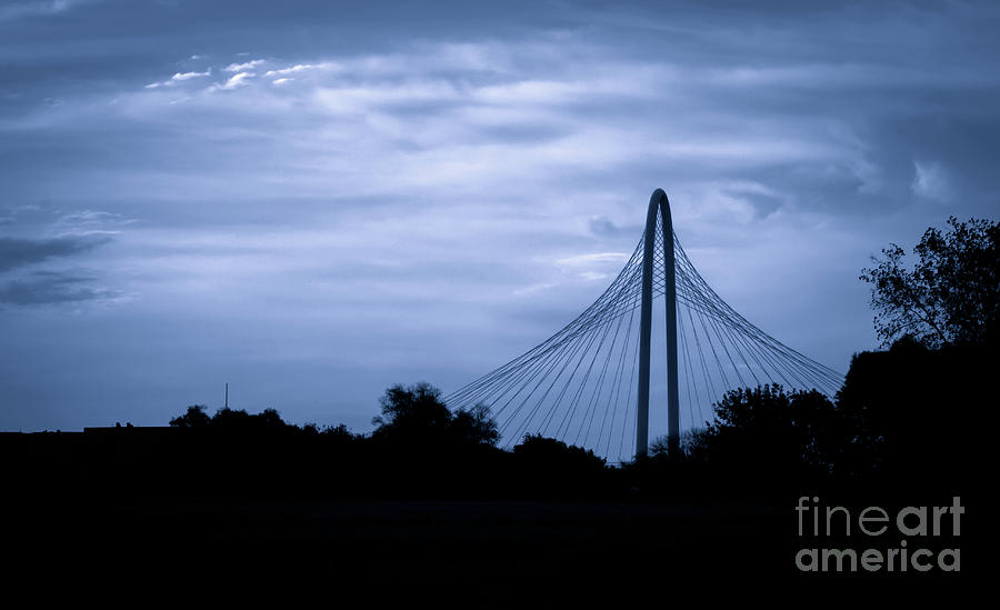 Dreamy Blue Bridge by Imagery by Charly