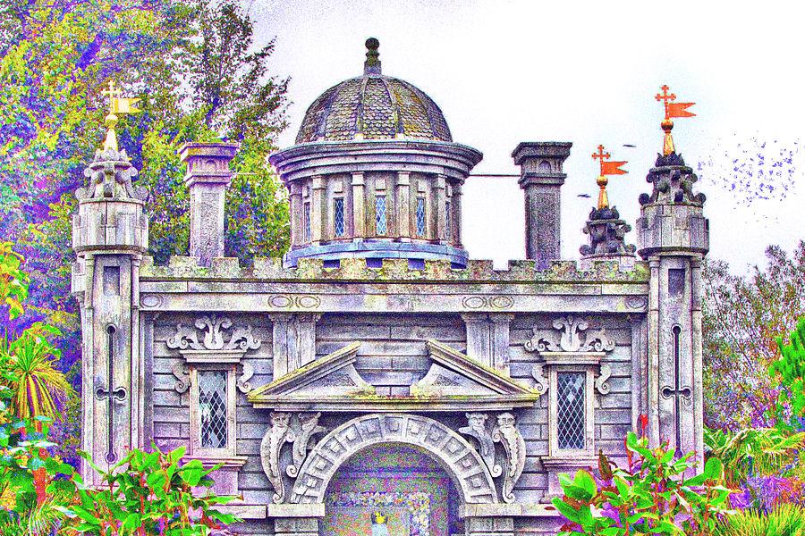 Dreamy Castle #13 Mixed Media