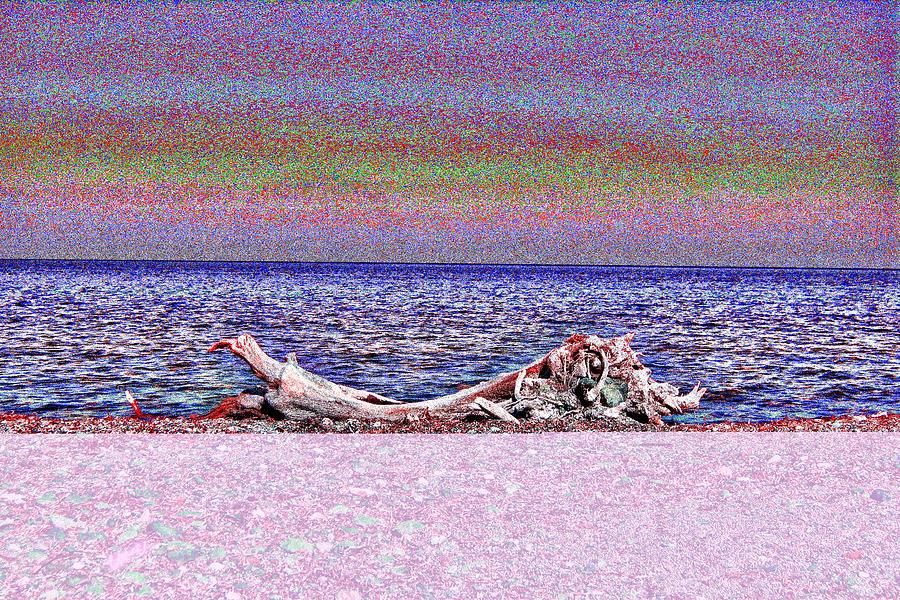 Dreamy Horizon #01 Mixed Media