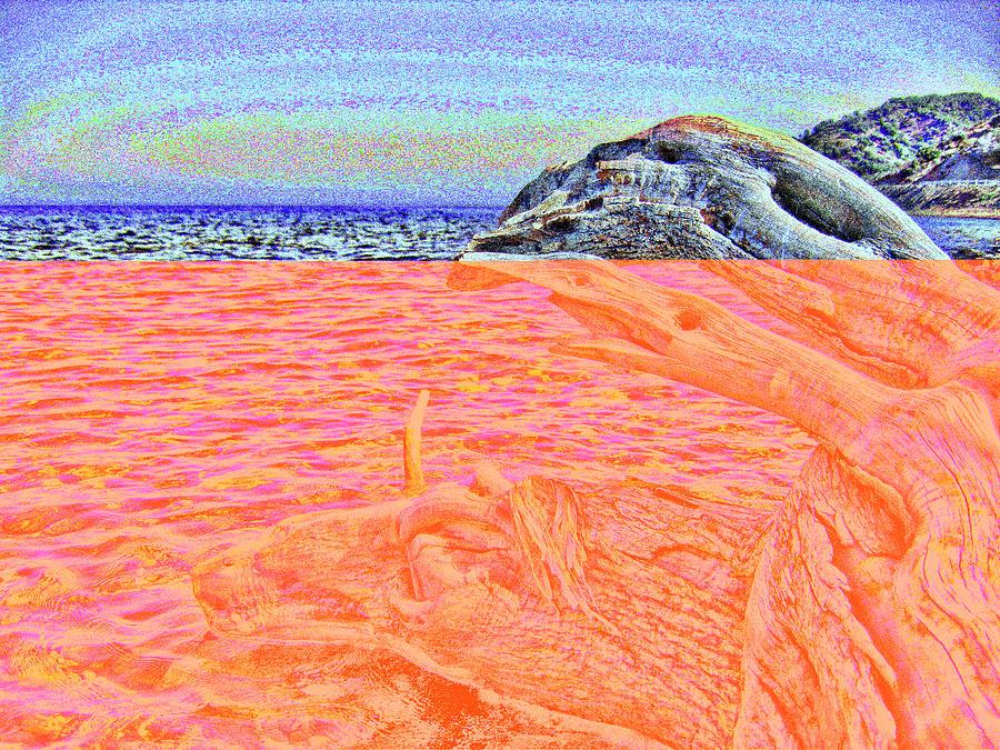 Dreamy Location Seascapes #16 Digital Art