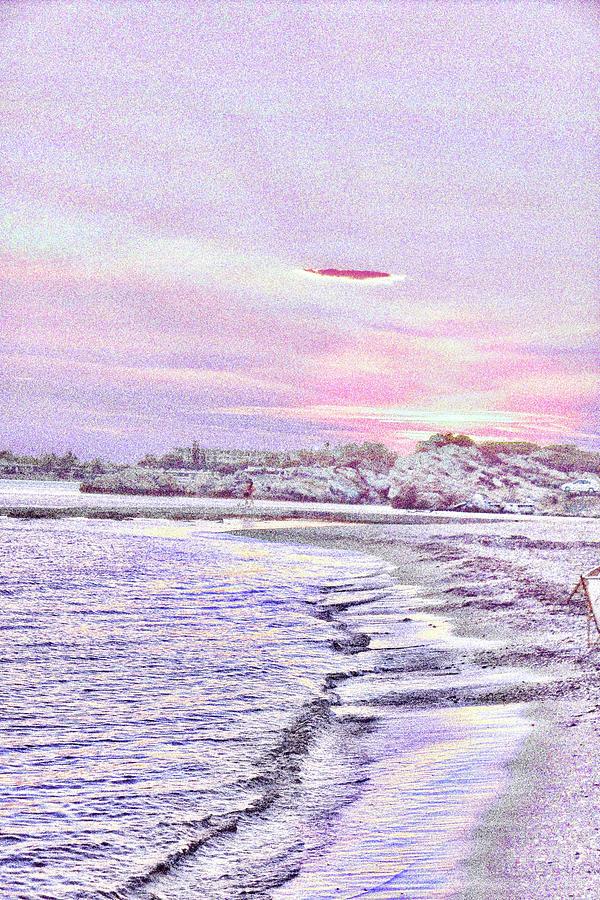 Dreamy Seascapes #17 Mixed Media