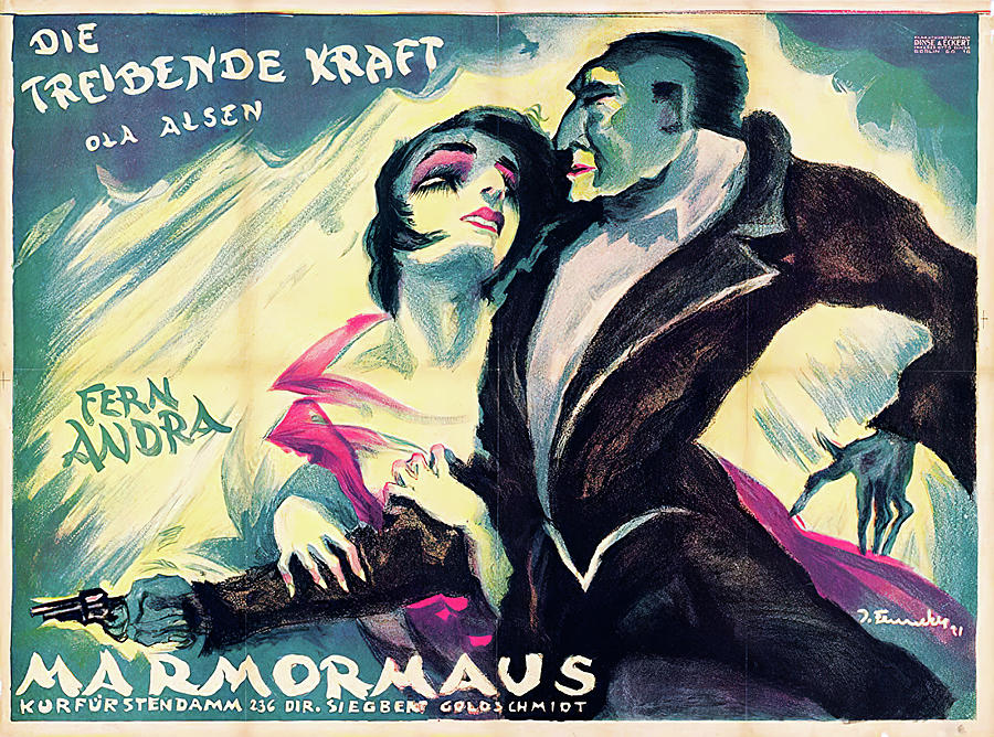 driving Force, German Film, 1921 Mixed Media
